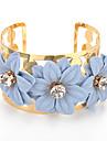 Femme Manchettes Bracelets Boheme Alliage Forme de Fleur Bijoux Pour Anniversaire Fete/Soiree Quotidien
