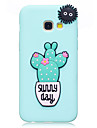Case For Samsung Galaxy A3 (2017) A5 (2017) Case Cover Cactus Pattern Fruit Color TPU Material DIY Phone Case