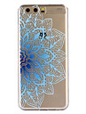 Etui pour huawei p10 plus p10 couverture couverture coque arriere bleu fleur doux tpu pour p10 lite p9 p9 lite p8 lite 2017 y6ii y5ii