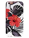 Pour iPhone X iPhone 8 Etuis coque Motif Coque Arriere Coque Fleur Flexible PUT pour Apple iPhone X iPhone 8 Plus iPhone 8 iPhone 7 Plus