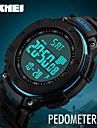 SKMEI Heren Sporthorloge Militair horloge Polshorloge Digitaal horloge Japans DigitaalKalender Stappenteller Stopwatch s Nachts