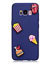 Caso para samsung galaxy s8 s8 mais capa capa padrao de sorvete cor da fruta material tpu caixa diy do telefone s7 s7 borda