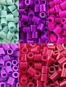 약 500PCS / 가방 5mm 퓨즈 비즈 하마 비즈 아이를위한 DIY 퍼즐 EVA 소재의 추구한다 (모듬 6 색, B38-B43)