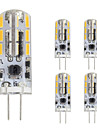 1.5W LED Bi-pin 조명 T 24 SMD 4014 120 lm 따뜻한 화이트 차가운 화이트 V 5개 G4