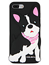 Case for apple iphone 7 plus iphone 7 cover pattern back cover case dog word / фраза 3d мультфильм мягкий силикон для iphone 6s плюс