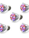 5W E14 GU10 E27 LED Grow Lights 28 SMD 5730 800 lm Warm White White Red Blue AC 85-265 V 1 pcs