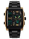 Skmei® Men\'s Analog-Digital Multifunction Three Time Zones Wrist Watch 50m Waterproof Assorted Colors