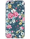 For iPhone X iPhone 8 Case Cover Pattern Back Cover Case Flower Soft TPU for Apple iPhone X iPhone 8 Plus iPhone 8 iPhone 7 Plus iPhone 7