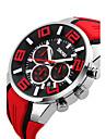 남성용 스포츠 시계 드레스 시계 스마트 시계 패션 시계 독특한 창조적 인 시계 디지털 시계 손목 시계 중국어 디지털 달력 방수 큰 다이얼 실리콘 밴드 참 멋진 창의적 멀티컬러