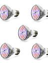7W E14 GU10 E27 LED Grow Lights 40 SMD 5730 800-1200 lm Warm White White Red Blue AC85-265 V 1 pcs