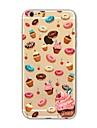 애플 아이폰 6 플러스 6 플러스 6s 6도 5s 5c 5 4s 4에 대 한 doughnut 부드러운 tpu