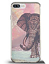 pour casque couverture ultra-mince back back case etui elephant soft tpu pour apple iphone x iphone 8 plus iphone 8 iphone 7 plus iphone 7