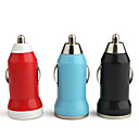 Car Charger for iPhone & Other Electronics (Assorted Color, 5V 1A)