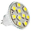 2W GU4(MR11) LED Spot Lampen MR11 10 SMD 5050 150 lm Natürliches Weiß DC 12 V