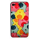 Cute Bear Pattern Front-und Back-Schirm-Schutz für iPhone 4/4S
