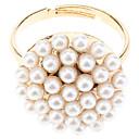 OLL Pilz Und White Pearl-Öffnungs-Ring