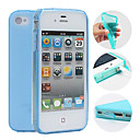 TPU Candy Color Protective Case for iPhone 4/4S(Assorted Colors)