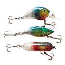 Floating/Sinking Mini Luminous Plastic Fishing Lure Packs (3pcs)