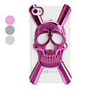 3D Hollow-out Skull Designed PC Hard Case for iPhone 4/4S (Optional Colors)