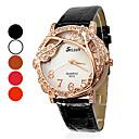 Women's Vines Pattern PU Analog Quartz Wrist Watch (Assorted Colors)