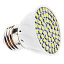 E26/E27 3 W 60 SMD 3528 240 LM Natural White PAR Spot Lights AC 110-130/AC 220-240 V