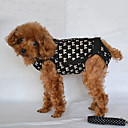 Lovely Bowknot Pattern Harness with Carrier Straps and Leash for Pets Dogs (Assorted Sizes)