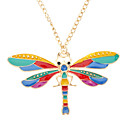 Z&X®  Golden Color Dragonfly Sweater Chain