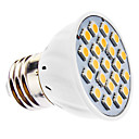 3W E26/E27 LED Spotlight MR16 21 SMD 5050 240 lm Warm White AC 110-130 / AC 220-240 V