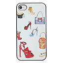 High-heeled Shoes Pattern Back Case for iPhone 4/4S