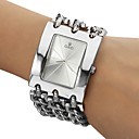 Men's Analog Quartz White Face Silver Steel Band Bracelet Watch (Silver) Cool Watches Unique Watches Fashion Watch