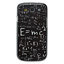 Formula Pattern Aluminum Hard Case for Samsung Galaxy S3 I9300
