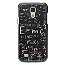 Formula Pattern Aluminum Hard Case for Samsung Galaxy S4 mini I9190