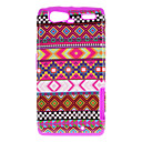 For Motorola Case Shockproof / Pattern Case Back Cover Case Lines / Waves Hard PC Motorola