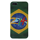 For iPhone 5 Case Pattern Case Back Cover Case Flag Hard PC iPhone SE/5s/5