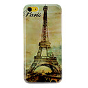 Vintage Eiffel Tower Pattern Hard Case for iPhone 5C