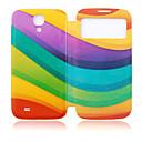 Colors Ribbon Plastic Full Body Case for Samsung Galaxy S4 I9500