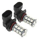 9005 27x5050SMD 150-200LM красный свет Светодиодные лампы для автомобилей (12V, 2 шт)