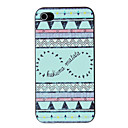Ethnic Style Birds Pattern PC Hard Case for iPhone 4/4S