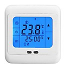 BYC07H Программируемый сенсорный ЖК-экран Теплые полы Комнатный термостат контроля температуры