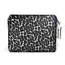 TWP Dark Gray Leopard Notebook Laptop Bag for 12