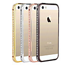 Toophone® JOYLAND Zircon Inlay Alloy Bumper Frame for iPhone 5/5S (Assorted Color)