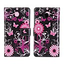 PU Leather Flower Pattern Case for Huawei Ascend Y530