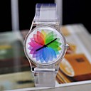 Женская мода росы Joker Оригинал SuFeng Unreal Цвет Прозрачный Часы