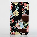 Multi-fonction Floral Print PU Leather Full Body Case with Stand for iPhone 4/4S