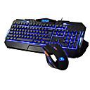 Ximeng K39M398 Световой Gaming Проводная USB клавиатура и мышь Kit 800/1600/2000 DPI