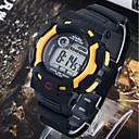 Мужская повседневная электронной цифровой Силиконовые Спортивные часы (разных цветов)