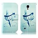 Hat Pattern Кожа PU Полный чехол для тела с подставкой для Samsung S4 i9500