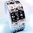 Женская Наблюдать Модные Площадь Алмазный Кварцевые наручные часы (разных цветов)