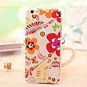 Футляр Мода Витражи Летние цветы Джунгли Личи Emboss ПК для iPhone 6