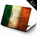 Ирландия Grunge Flag Wallpaper Full-Body Защитный пластиковый чехол для 11-дюймовых / 13-дюймовым Нью-Mac Book Air